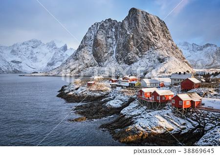 Hamnoy fishing village on Lofoten Islands, Norway  38869645