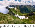 snow, mountain, valley 38872316