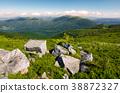 beautiful mountain landscape on summer morning 38872327