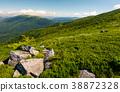 beautiful mountain landscape on summer morning 38872328