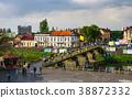 bird eye view of Uzhgorod town 38872332