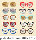 glasses, fashion, vector 38873712