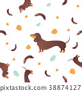 dog,seamless,cartoon 38874127