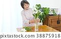 Senior women living flowers 38875918