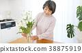 Senior women living flowers 38875919