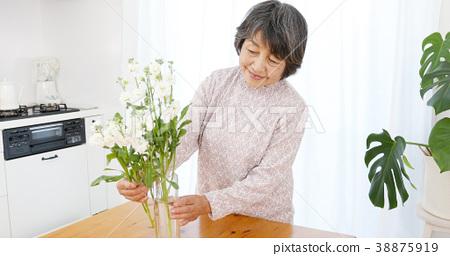 高級女性生活鮮花 38875919