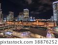 都市風景東京站夜視圖丸之內 38876252