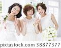 新娘婚禮婚姻新娘 38877377