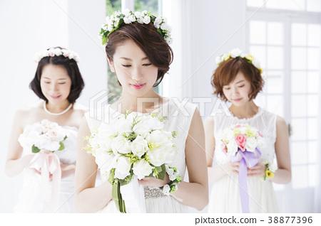 新娘 婚禮 成熟的女人 38877396