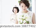 新娘 婚礼 女生 38877402