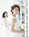 新娘 婚禮 女生 38877417