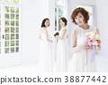 新娘婚禮婚姻新娘 38877442