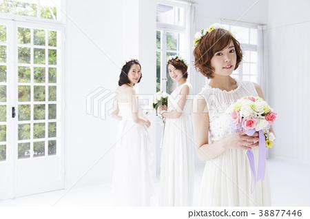 新娘 婚禮 一個年輕成年女性 38877446
