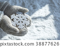 Objects photo for winther season. sweater, tangerine, hot tea or coffee and so on. 095 38877626