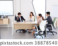 Young business people  - Group of Business people or colleague meeting in office to discuss project. teamwork concept photo. 058 38878540