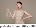 Beauty stylish asian women posing in fashionable clothes isolated White background. 046 38879189