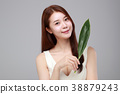 Beauty stylish asian women posing in fashionable clothes isolated White background. 130 38879243