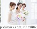 婚禮新娘婦女婚姻新娘 38879887