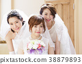 婚禮新娘婦女婚姻新娘 38879893