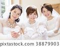 แต่งงานเจ้าสาวผู้หญิงแต่งงานเจ้าสาว 38879903