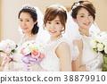 婚禮新娘婦女婚姻新娘 38879910