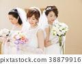 婚禮新娘婦女婚姻新娘 38879916