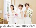 婚禮新娘婦女婚姻新娘 38879921