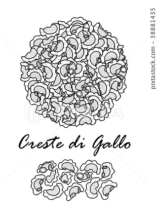 Poster design for traditional Italian pasta. 38881435