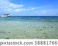 이리오모테 섬, 푸른 하늘, 파란 하늘 38881766
