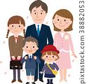 入学和入学家庭 38882053
