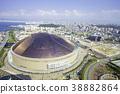 穹顶体育场 球场 圆屋顶 38882864