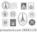 ชุดแสตมป์ปารีส 38883136