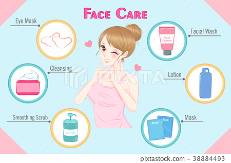 woman with face care 38884493