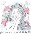 女性 女 女生 38884495