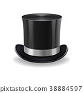 black gentleman hat 38884597