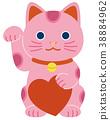 招财猫 猫 猫咪 38884962
