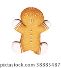 Gingerbread man 38885487
