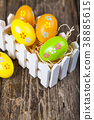 Easter still life with Easter eggs. 38885615