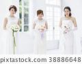 新娘婚禮婚姻新娘 38886648