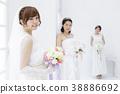 新娘 婚禮 一個年輕成年女性 38886692