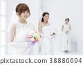 新娘 婚禮 女生 38886694