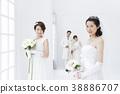 웨딩, 결혼식, 신부 38886707