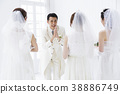 wedding, bride, female 38886749