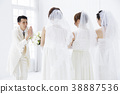 wedding, bride, female 38887536