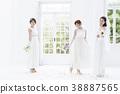 婚姻婚禮新娘婚禮新娘 38887565