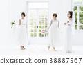 新娘 婚禮 女生 38887567