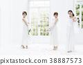 결혼 웨딩 신부 웨딩 신부 38887573