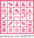 easter, icon, icons 38887627