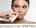 nasal, drop, girl 38887891