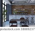 室內圖像咖啡館 38889237